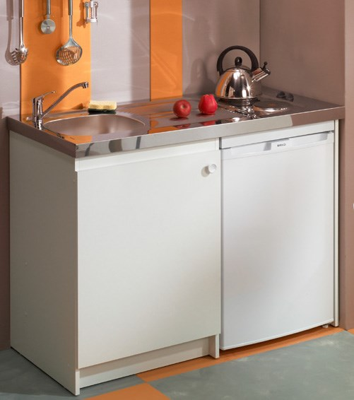 meuble de cuisinette 120 cm. Black Bedroom Furniture Sets. Home Design Ideas