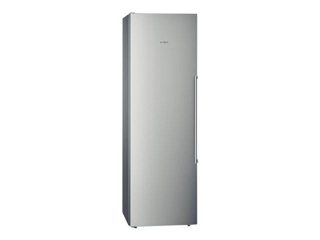 refrigerateur 1 porte tout utile 346l inox. Black Bedroom Furniture Sets. Home Design Ideas